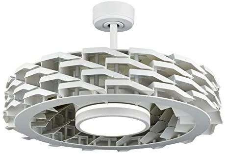 ventilador de techo blanco sin aspas