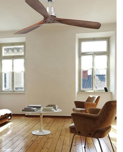 Faro Barcelona 33370 LANTAU Ventilador de techo decoración habitación madera