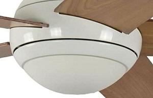 Pepeo Ventilador de techo con luz y mando a distancia Melton con luz