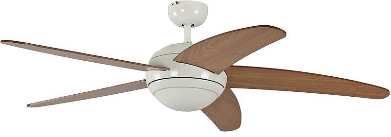 Pepeo Ventilador de techo con luz y mando a distancia Melton