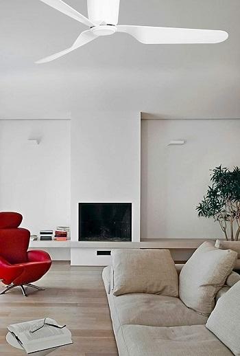 Ventilador de techo blanco Faro 33471 PEMBA habitación