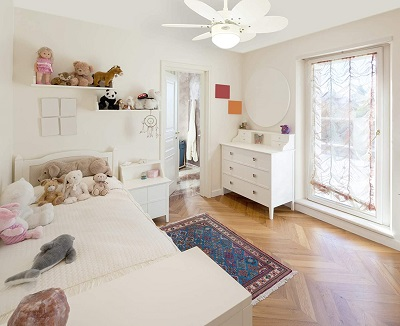 Westinghouse 7867340 Turbo II de colores habitación infantil