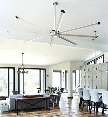ventiladores techo 8 palas para techos muy altos